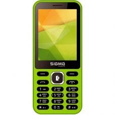 მობილური ტელეფონი Sigma X-STYLE 31 POWER Green