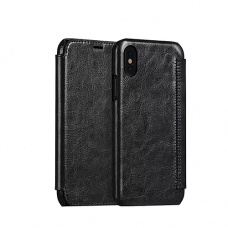 Hoco Crystal series leather ქეისი for iPhone X/Xs Black