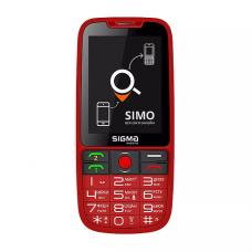 მობილური ტელეფონი Sigma Comfort 50 MEIPL Elegance 3 Red