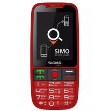 Sigma Comfort 50 MEIPL ''Elegance 3'' Red